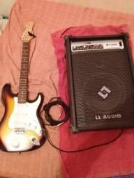 Guitarra + caixa