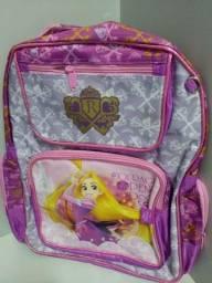 Mochila escolar infantil das princesas a4aa0af5c5e76