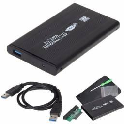 Case HD Sata Notebook 2.5 USB 3.0