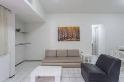 Flat 207, aluguel, possui 50 m2, 1 quarto, em Boa Viagem - Recife - PE, 100% climatizado