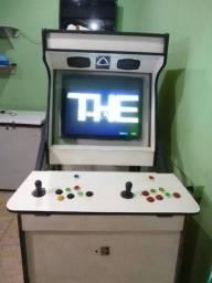 FLIPERAMA - máquina vídeo game seminova customizada