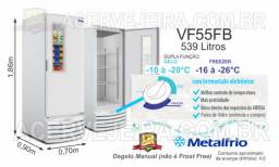 Freezer Vertical VF55 Metalfrio