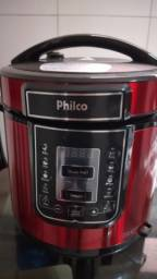 Panela de pressão digital 6 litros inox