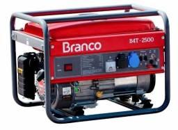 GERADOR DE ENERGIA A GASOLINA BRANCO B4T-2500S 5,5CV 2,2KVA MONOFÁSICO 220V