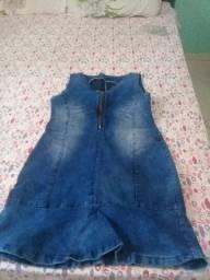 Vestido jeans curto