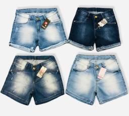 Shorts Jeans Atacado Modelo Meia Coxa
