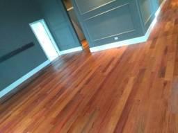Restauração de pisos de madeira