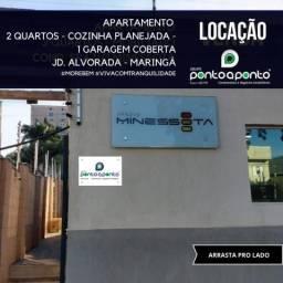 8325   Apartamento para alugar com 2 quartos em Jardim Alvorada, Maringá