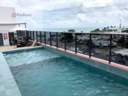 Loft à venda com 1 dormitórios em Manaíra, João pessoa cod:35043