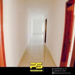 Casa com 3 dormitórios à venda, 105 m² por R$ 350.000 - Carapibus - Conde/PB