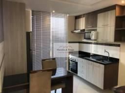 Condomínio First apartamento com 1 dormitório para alugar, 40 m² por R$ 1.725/mês - Vila A