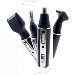 Máquina De Barbear Recarregável Luatek 4 Em 1