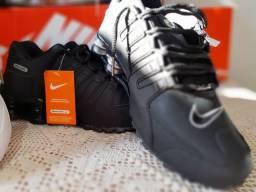 Tênis Nike Shox Masculino preto