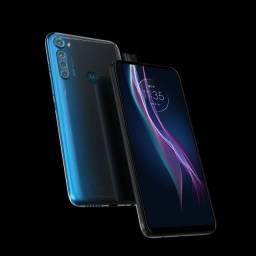 Motorola one fusion+ - Azul Indigo ( Lançamento)