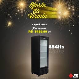 Cervejeira porta de vidro 454 litros - Victor