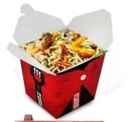 Embalagem Box Yakisoba