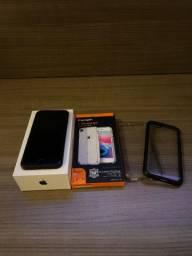 IPhone 7 128GB matte black + Capa Spigen