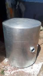 Tanque de alumínio redondo original