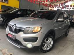 Sandero Stepway 2017 É Na Macedo Car!!!uvk