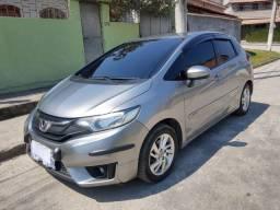 Vendo Honda fit automático CVT com GNV  5° geração de  ,10 metros