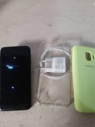 Samsung J2 core usado na caixa