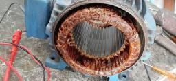 Rebobinagem de motor eletrico