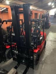 Empilhadeira Diesel Hangcha | 3 toneladas | Torre de 6 metros | NOVA