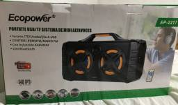 Ecopower, caixa de som