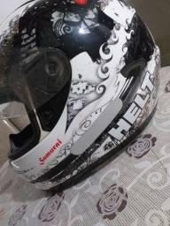 LINDO capacete HELT SAMURAI N°58 OPORTUNIDADE IMPERDÍVEL