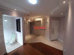 Título do anúncio: Apartamento com 1 dormitório à venda, 47 m² por R$ 425.000,00 - Aparecida - Santos/SP