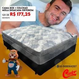 Título do anúncio: CAMA BOX E COLCHÃO!!! SUPER PROMOÇAO