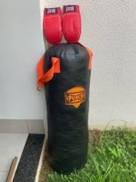 Saco e Luva de boxe