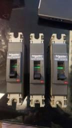Disjuntor caixa moldada Schneider EZC100H 25A