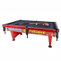 SINUCA - Pac-Man Pool Table