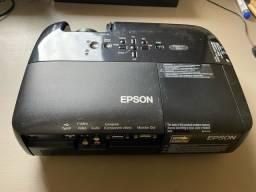 Título do anúncio: Oportunidade!! Projetor multimídia Epson S6+ - impecável com garantia