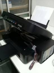Impressora epson xp214 com bulk funcionando perfeitamente multifuncional