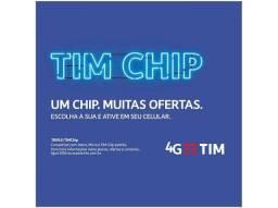 Tim chip com R$365,00 de créditos