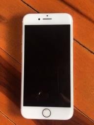 Iphone 7 branco / rose em perfeito estado de uso