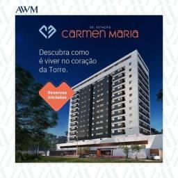 Título do anúncio: HR - Vendo Edf Estação Carmem Maria | Torre /50M²/ 2 QTs + 1 Suíte /1 VG/ Lançamento