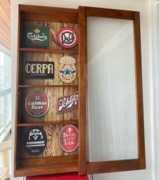 Bar vitrine prateleira