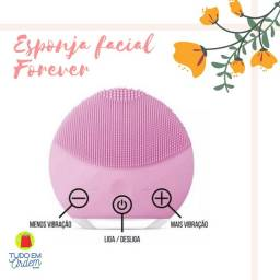 Escova Elétrica Forever - Limpeza e massagem facial