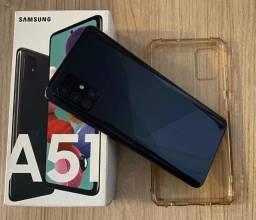 Samsung galaxy a51 completo na caixa e nota fiscal