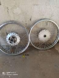 Rodas de ferro fan 125i