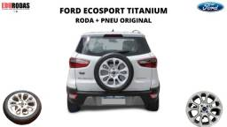 Roda + Pneu Aro 17 Ford Ecosport Titanium