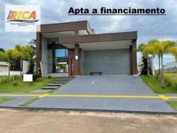 Vende-se uma linda casa, apta a financiamento no condomínio Alphaville- Porto velho