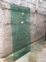 Porta vidro temperado blindex