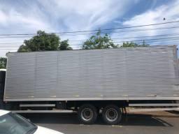Título do anúncio: Baú de Aluminio para caminhão Truck 9 metros