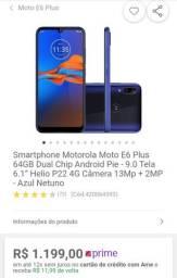 Motorola Moto E6 plus 64 GB