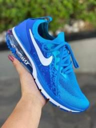 Tênis Nike airmax com amortecimento em ar comprimido