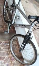 Bicicleta de alumínio não é GTS